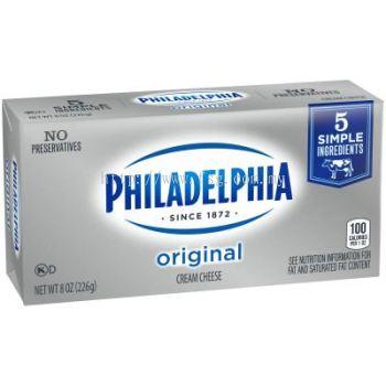 Philadelphia Original Cream Cheese Brick 8 oz Box