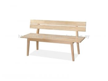 Long Bench (with Backrest)