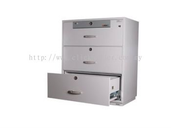 Lateral Fire Resistant Cabinet