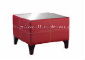 Camelia Sofa - Side Table (Glass Top)