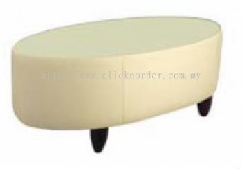 Couch Sofa - Main Table (Glass Top)