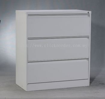 Lateral 3 Drawers