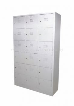 18 Compartments Locker