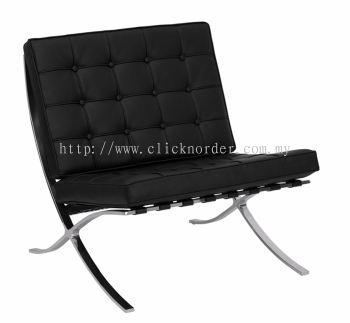 Barcelona Single-Seater (Black)