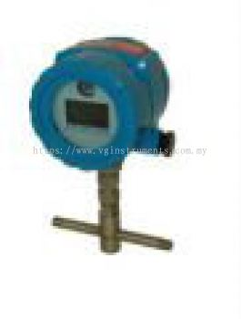 THERMAL DISPERSION FLOW METER FOR AIR & GASSES - Inline Style