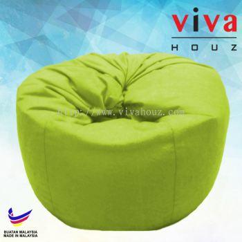 Viva Houz Happy Bean Bag/ Sofa /Chair, XL Size, 2.5kg (Green)