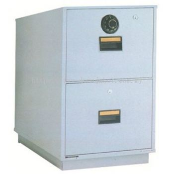 LION 2 Drawer Fire Resistant Cabinet RP2