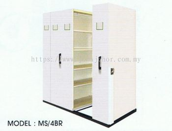 4 Bays Standard Mobile with Floor Rail System
