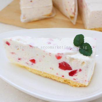 Hokkaido Milk Cheese Cake Strawberry Flavor