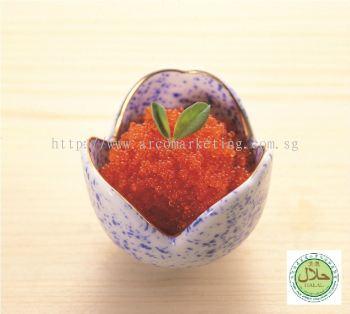 Seasoned Flying Fish Roe Orange / Halal Tobiko Orange