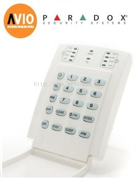 Paradox K10V Alarm 10 - zone LED keypad built-in 1-zone input