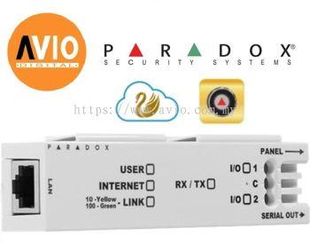 Paradox IP150 Alarm Internet Module control alarm through IP network