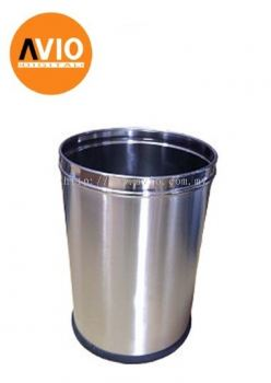 STAINLESS STEEL DUSTBIN ADS13L 13L  HOTEL HOME OFFICE