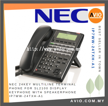 NEC IP7WW-24TXH-A1 24 Key Multiline Phone Terminal for SL2100