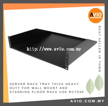 2U Cantilever Server / Equipment Rack Tray 330mm(D) x 440mm(W) for Wall Mount and Standing Floor Rack use RCT330