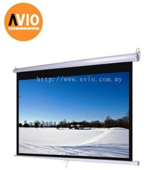 KWC77 84 x 84 ( 7 x 7 feet ) Wall Projector Screen