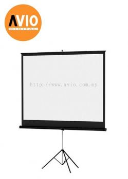 KTC66 70 x 70 ( 6 x 6 feet ) Tripod Projector Screen