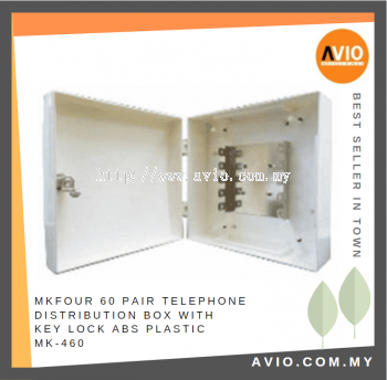 MK-460 60-pair Telephone Distribution box, ABS Plastic