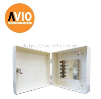 MK-4100 100-pair Telephone Distribution box, Electro-Galvanized Metal