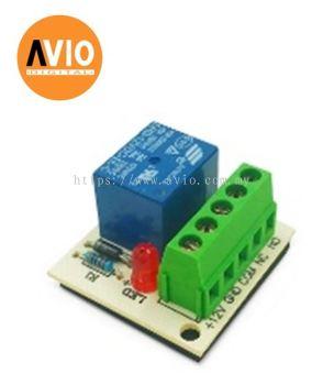 RLY-12V Alarm 12V relay 1 pole NO / NC with screw terminals