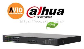 AVIO LR2218-16ET-240 16 POE + 2 GE Combo Managed Switch