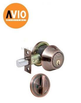 DORETTI DD101AB-V SINGLE DEADBOLT SUS 304 ANTIQUE BRASS