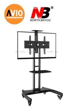 NB AVA1500-60-1P 32 to 65 inch Led Tv Moving Roller Rack Bracket