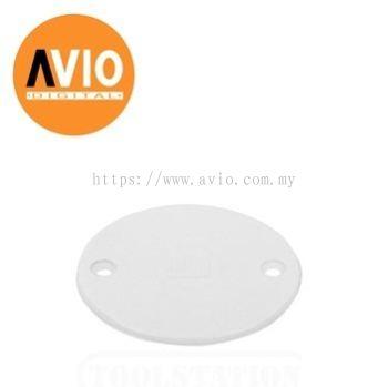 CBC-R PVC LID ROUND COVER WHITE COLOUR ( 10 pc )