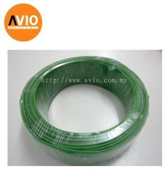 P1C25G 1 core 2.5mm 100meter Green Power Cable