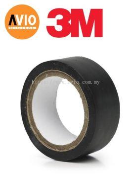 PT10X018B 3m PVC Black Tape 18mm x 10m x 0.18mm