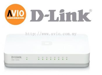 D-Link Dlink DGS-1008A 1008 8 Port Gigabit Switch