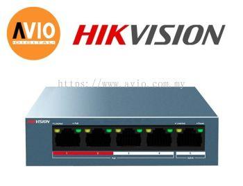 Hikvision DS-3E0105P-E/M 4 POE + 1 Uplink POE Switch