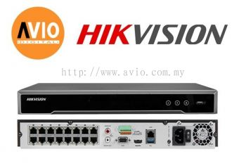 Hikvision DS-7616NI-K2/16P 16 ch IP Network NVR with POE (300m)