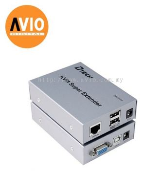 VG-KVM-EXT VGA extender 200 meter over Single UTP cable ( Cat5e / Cat6 )