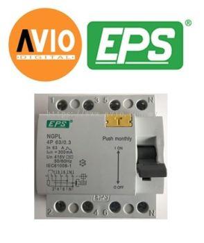 EPS NGPL634 EM 4 Pole 63A 300mA RCCB