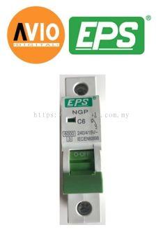 EPS NGP061C Type C 6kA 1 Pole 6A MCB