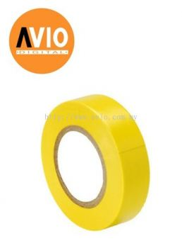 PT5X013Y Rapid Tech PVC Yellow Tape 18mm x 5m x 0.13mm (5 PCS)
