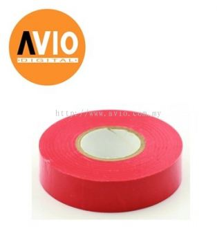 PT5X013R Rapid Tech PVC Red Tape 18mm x 5m x 0.13mm (5 PCS)