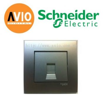 Schneider SCHKB31RJ6-AS Vivace 1 Gang Cat6 Data Socket
