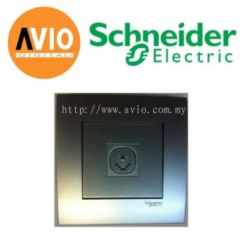 Schneider SCHKB31TS-AS Vivace 1 Gang Telephone Socket