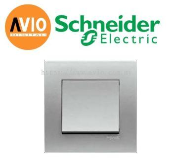 Schneider SCHKB31-AS Vivace 1 Gang 1 Way Light Switch