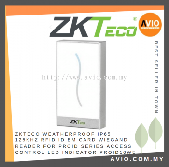 ZKTeco PROID10WE RFID Wiegand Reader Dual colour LED