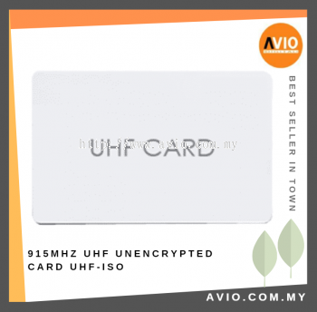 UHF2-ISO 915MHz Unencrypted UHF Cards / Tag