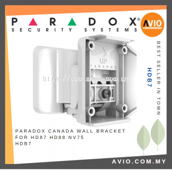Paradox HDB7 Indoor Wall Bracket for HD87 HD88 NV75