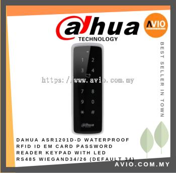 Dahua ASR1201D-D Slim Waterproof RFID Reader Keypad