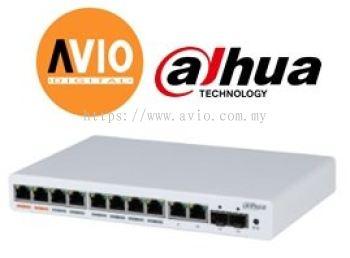 Dahua PFS4212-8GT-96 8GE POE + 2GE + 2 SFP Managed Switch