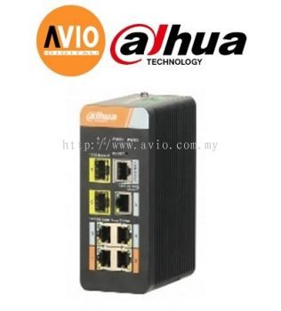 Dahua PFS4207-4GT-DP 7port Gigabit L2 Industrial Switch with 4 port Gigabit POE Managed Switch
