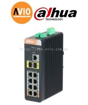 Dahua PFS4210-8GT-DP 10port Gigabit Industrial L2 8port Gigabit POE Managed Switch