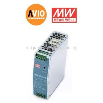 Meanwell EDR-120-48 120W Single Output Industrial DIN Rail Power Supply