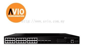 DAHUA AVIO PFS4428-24GT-370 24GE POE + 4SFP Managed Switch